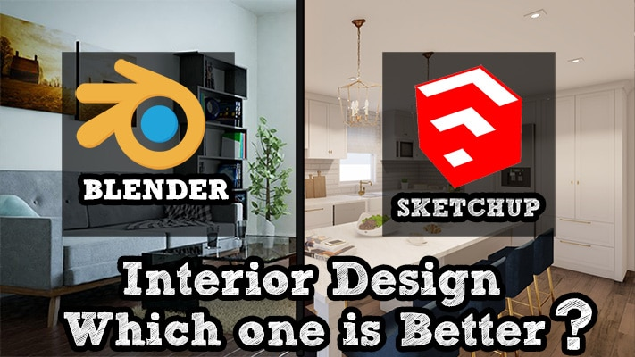 Blender Vs Sketchup For Interior Design Inspirationtuts